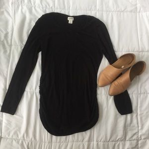Black Maternity Sweater
